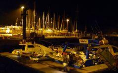 Nachts im Hafen I
