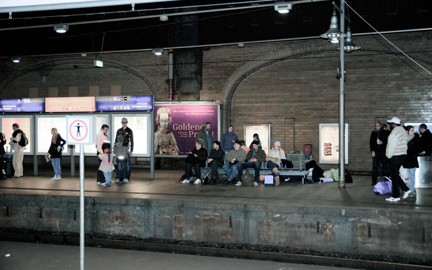 Nachts im Hauptbahnhof