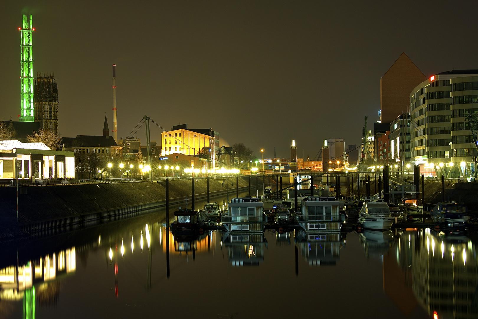 Nachts im Innenhafen III