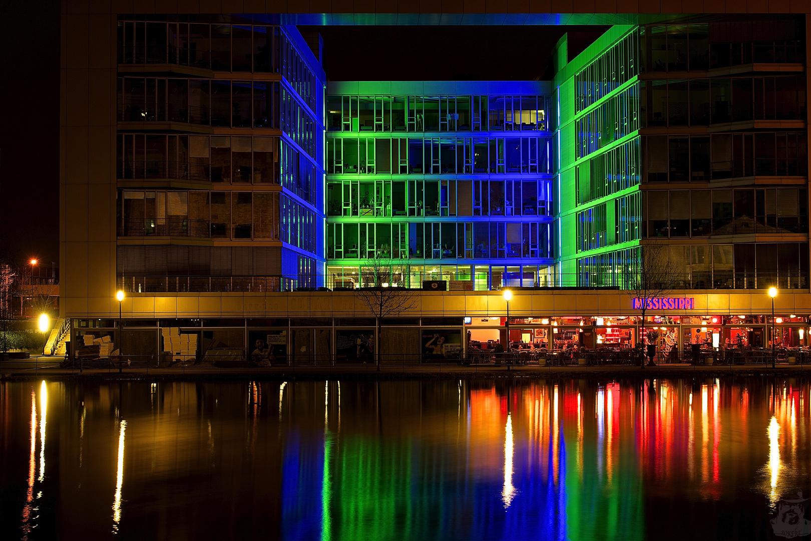 Nachts im Innenhafen IV