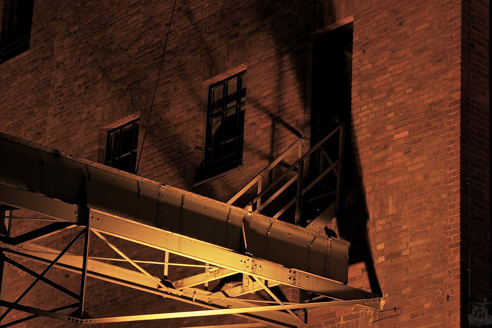 Nachts im Innenhafen IX