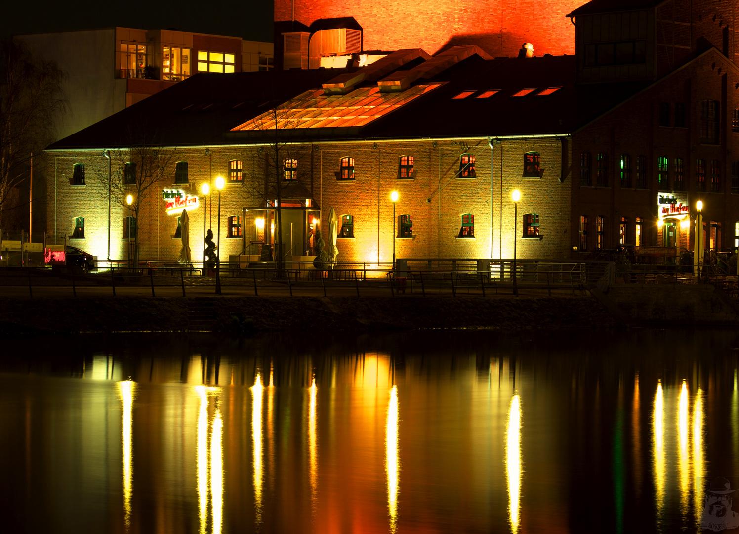 Nachts im Innenhafen VI