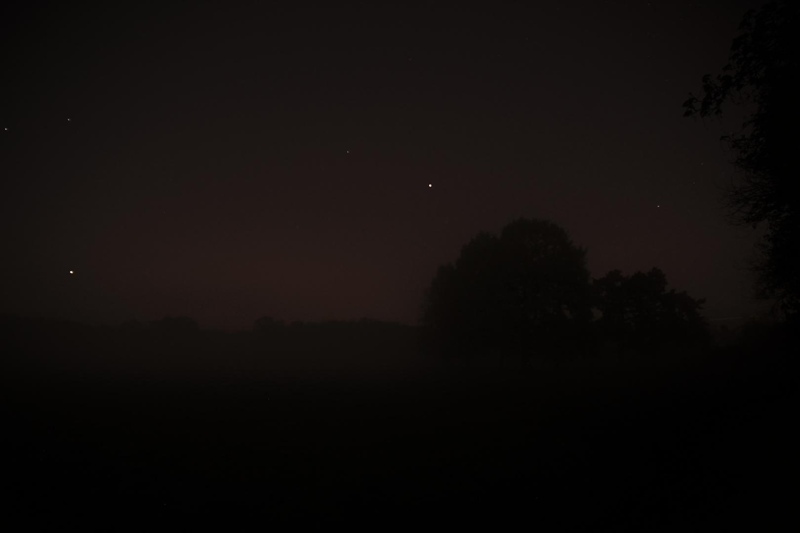 Nachts im Nebel