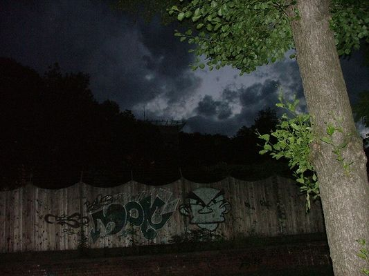 Nachts im Park...