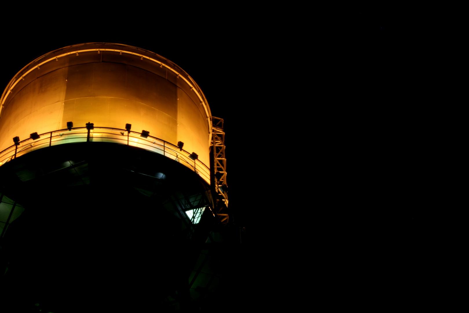Nachts im Ruhrgebiet