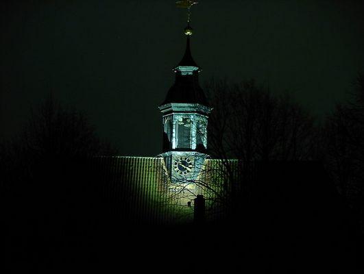 Nachts im Schlosspark...