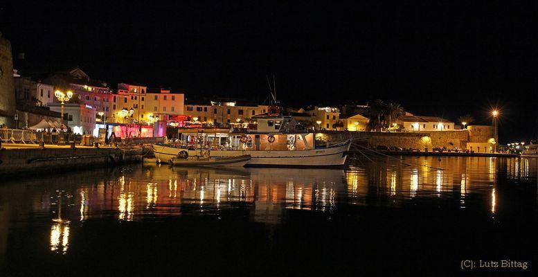 Nachts in Alghero