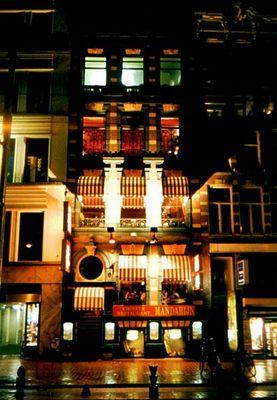 Nachts in Amsterdam