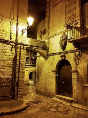 Nachts in Bari