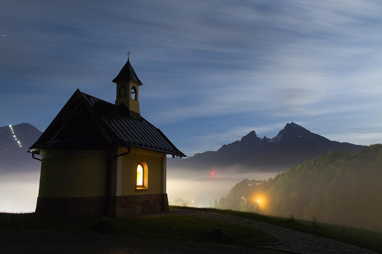 Nachts in Berchtesgaden