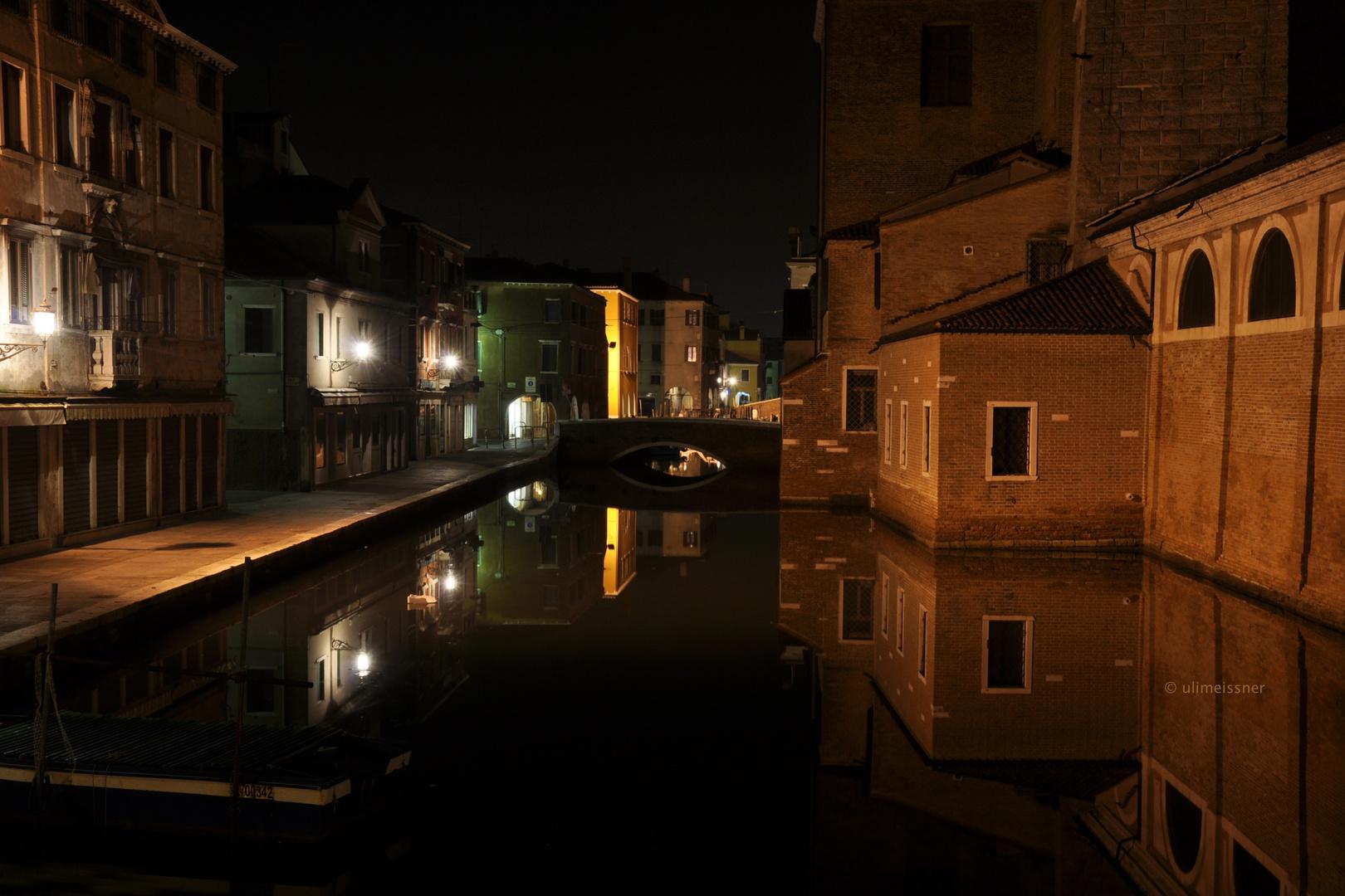 Nachts in Chioggia