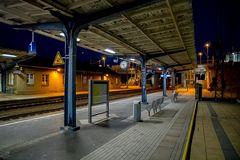 Nachts in Falkenberg / Elster