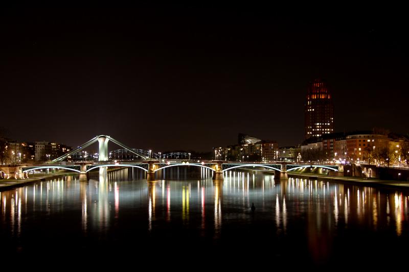Nachts in Frankfurt