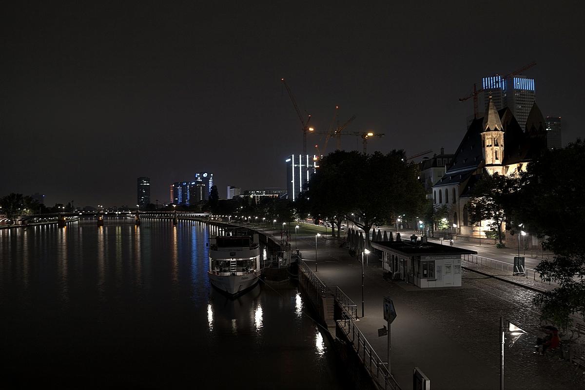 Nachts in Frankfurt am Main...