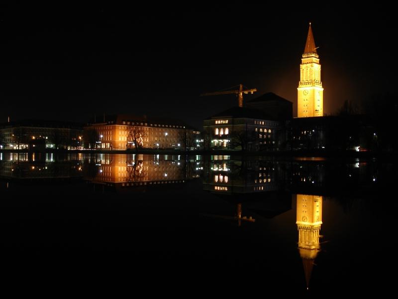 Nachts in Kiel