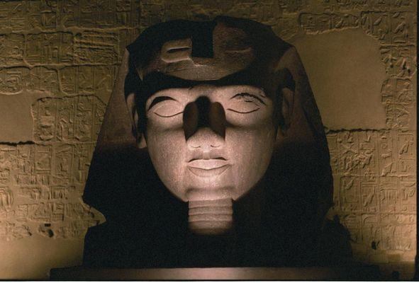 Nachts in Luxor
