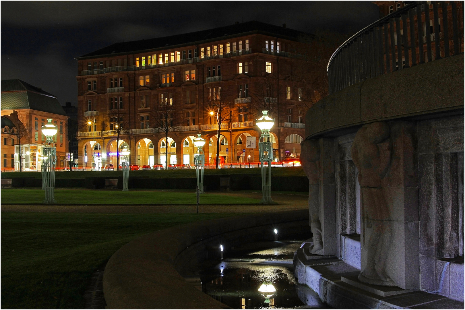 Nachts in Mannheim