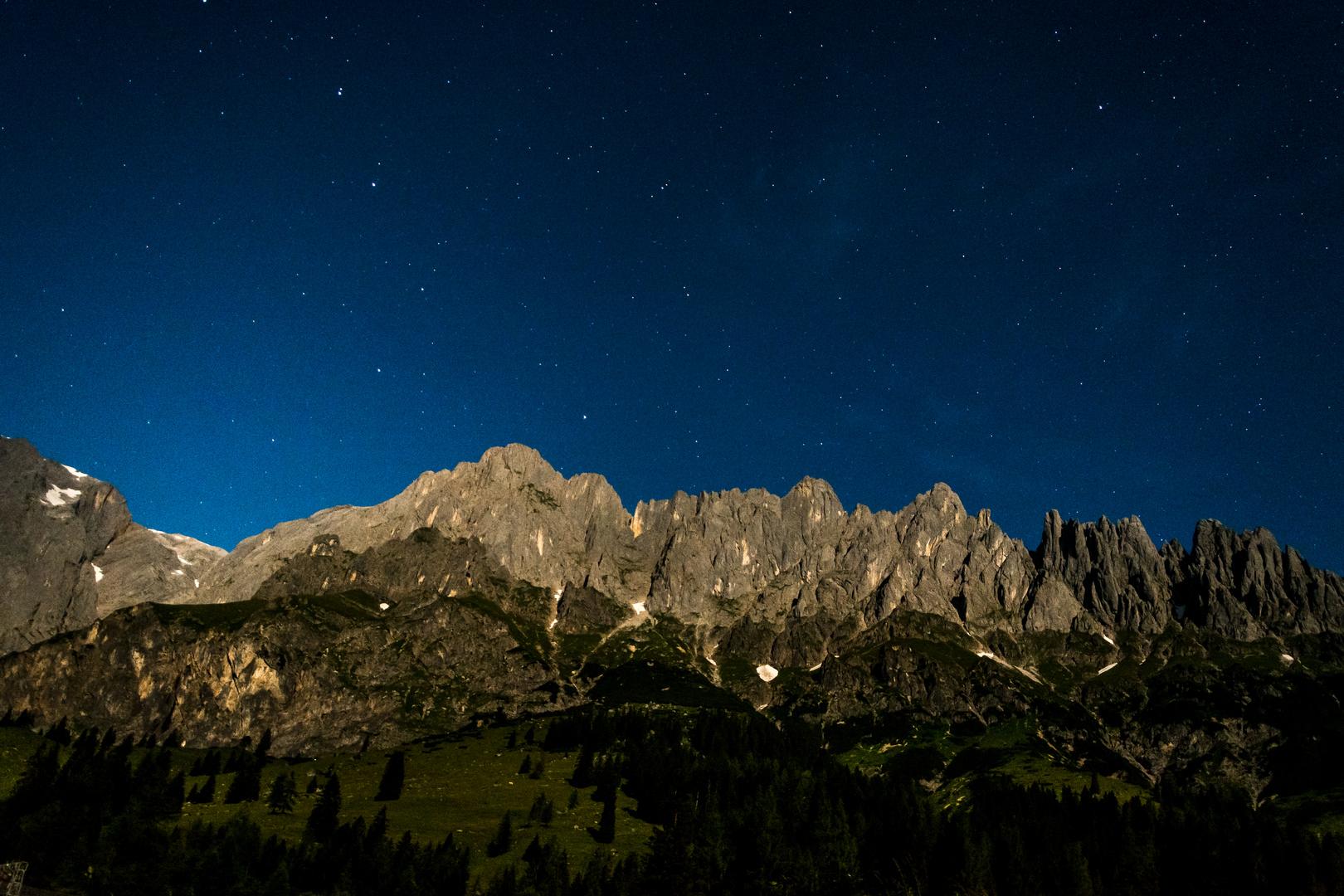 Nachts in Österreich