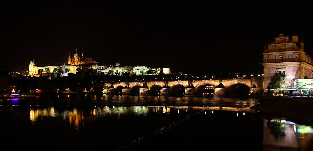 Nachts in Prag