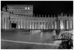 NAchts in Rom - Vatikanstadt...