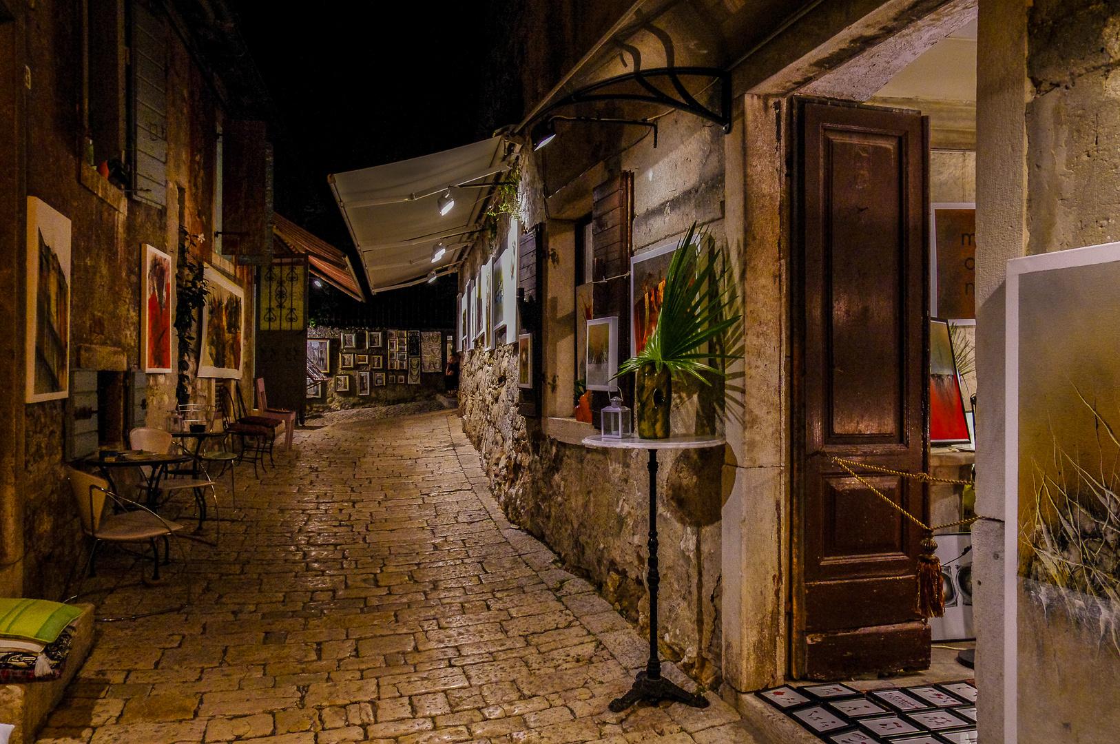 Nachts in Rovinj