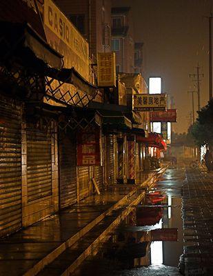 Nachts in Shanghai...