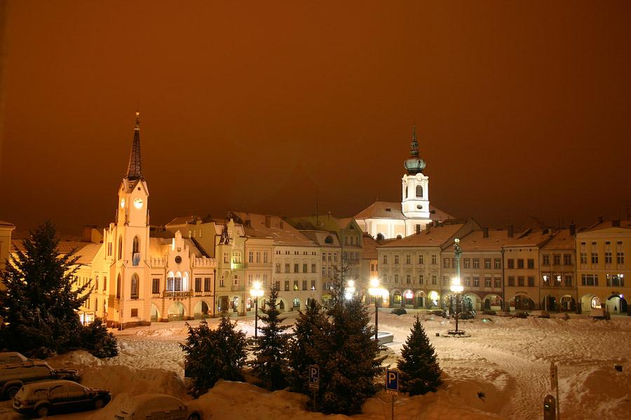 ...Nachts in Trutnov...