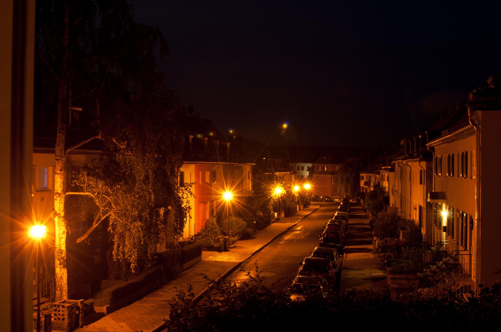 Nachts irgendwo in Weimar