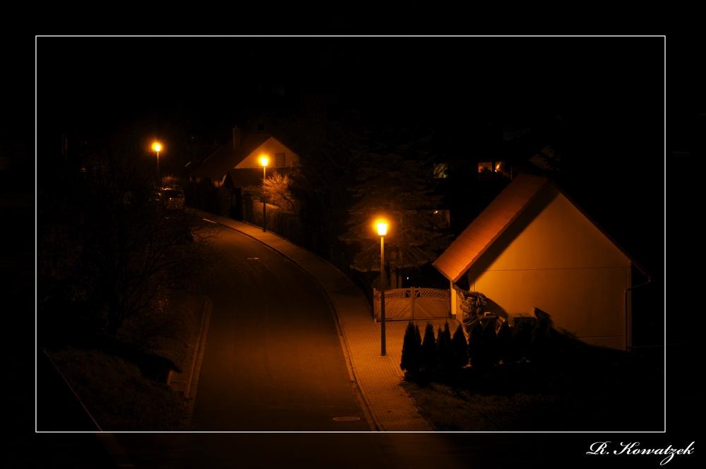 Nachts schlafen die Straßen doch