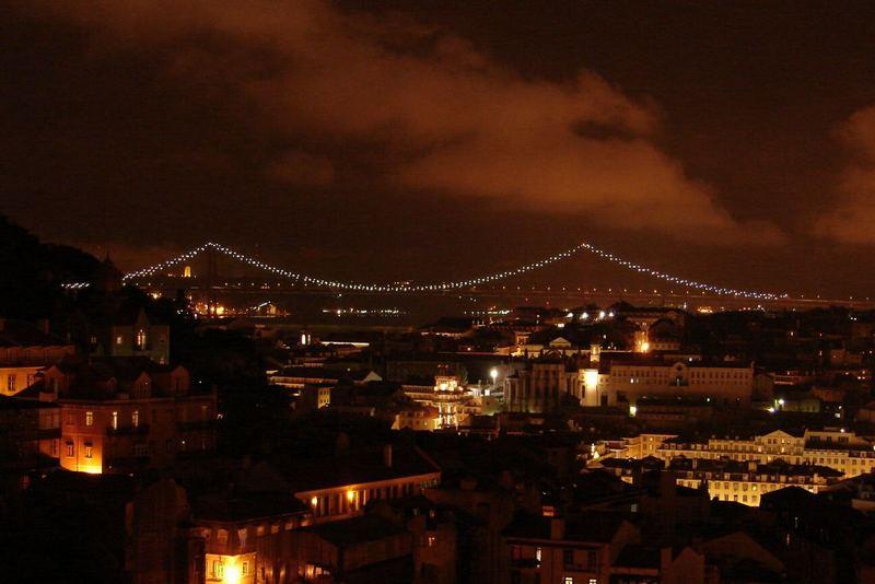 Nachts sind alle Brücken grau.... oder auch nicht ;-)