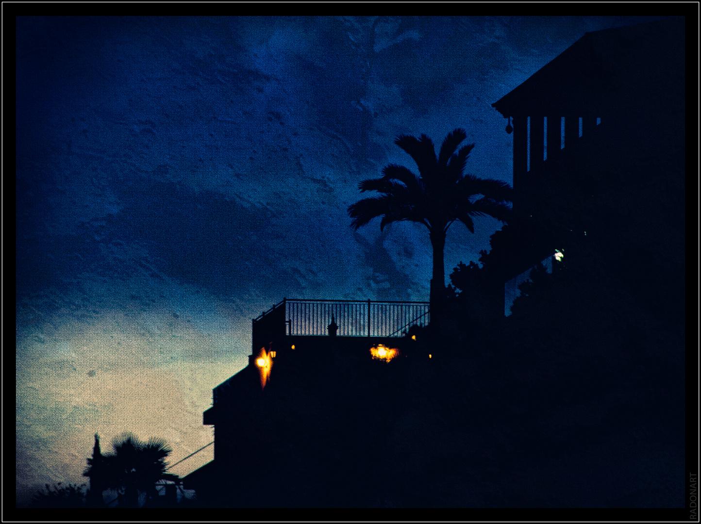 Nachts über St.Ponca