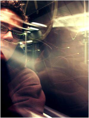 Nachts um ein Uhr in der S Bahn