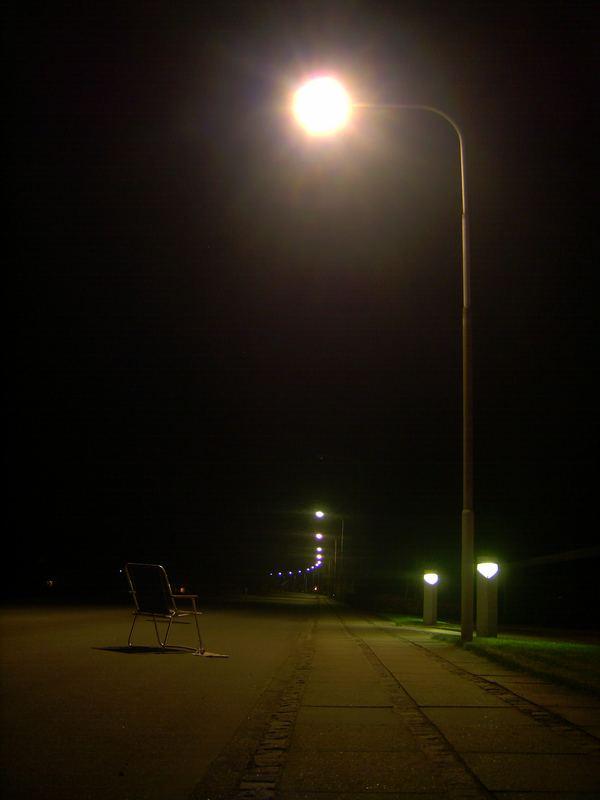 Nachts um halb 12