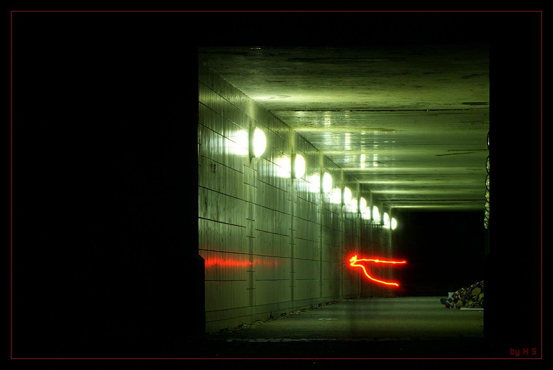 Nachts, unter Hamburgs Brücken...