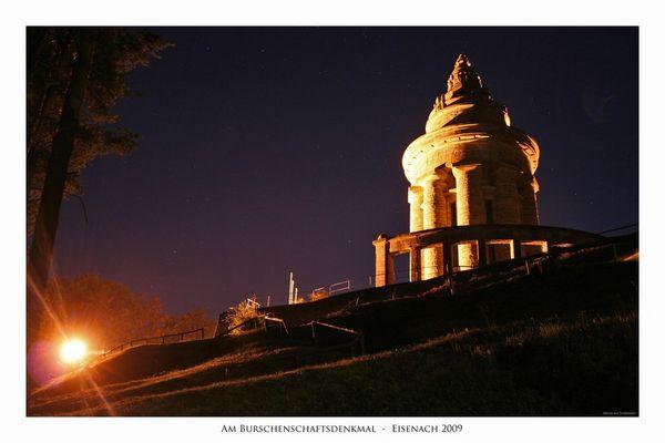 Nachts unterwegs in Eisenach...