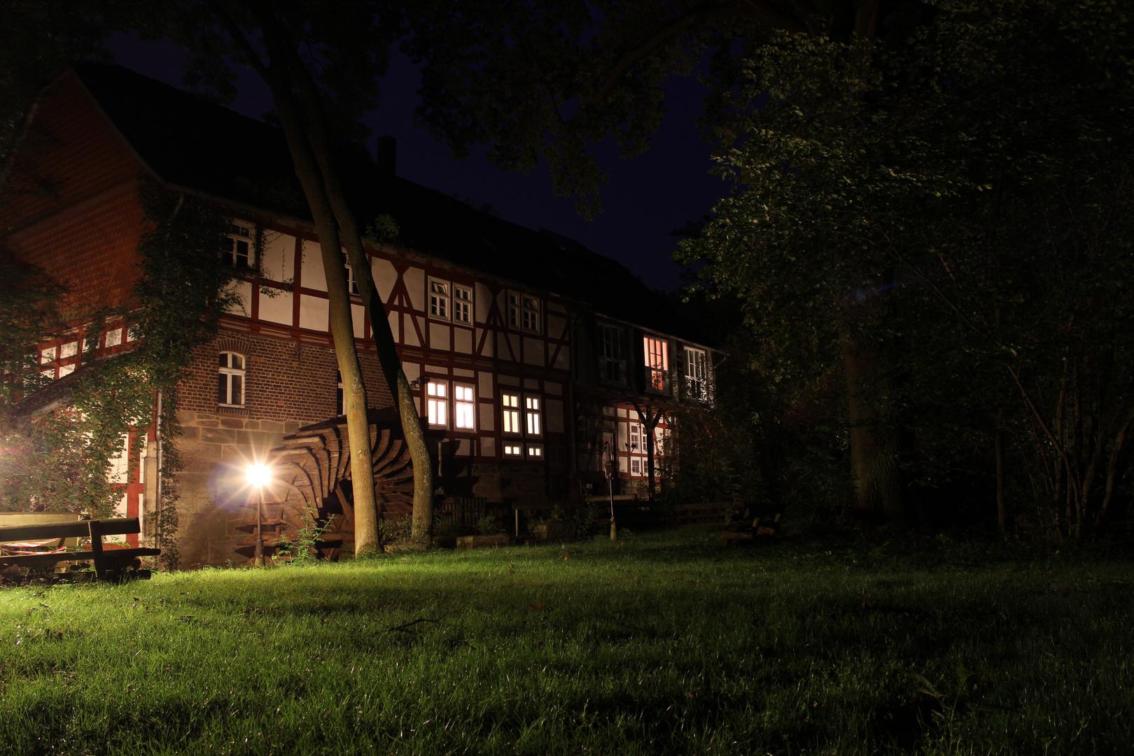 Nachtschicht an der Hohlebachmühle...