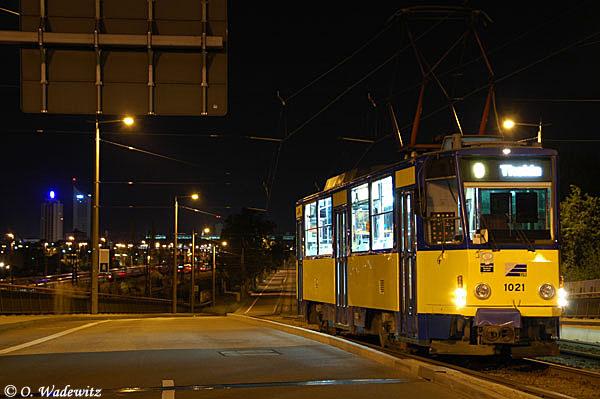 Nachtsonderfahrt mit T6 oder 2.15 Uhr in Leipzig