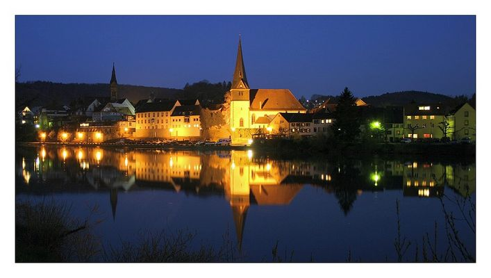 Nachtspiegelung - Neckargemünd