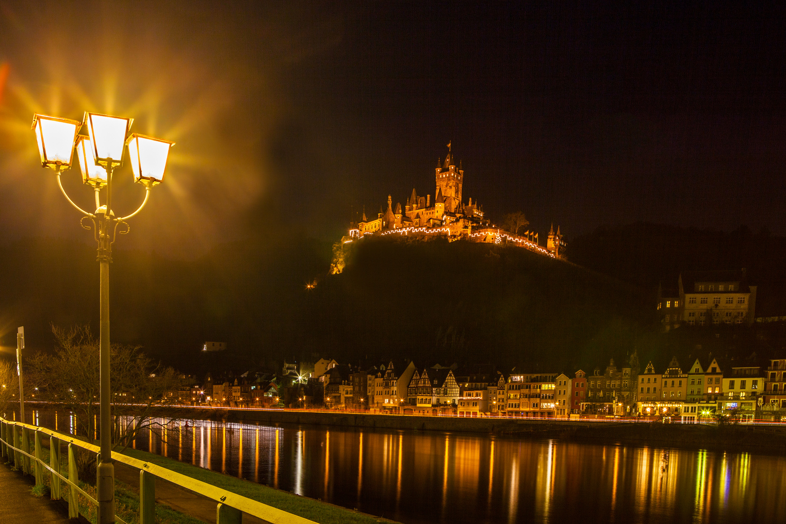 Nachtstimmung in Cochem a.d. Mosel