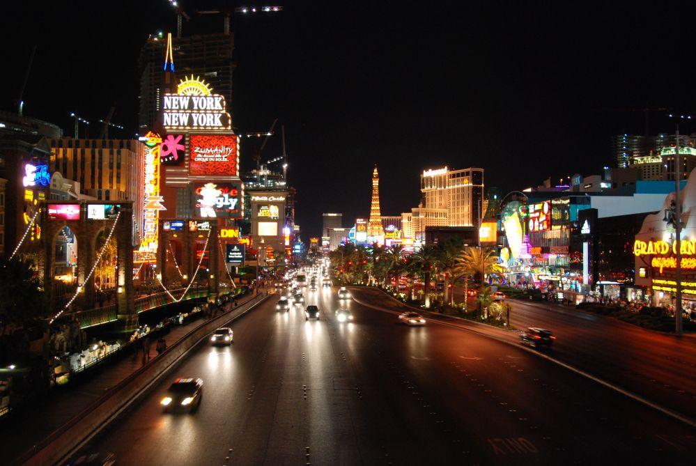 Nachtstimmung in Las Vegas