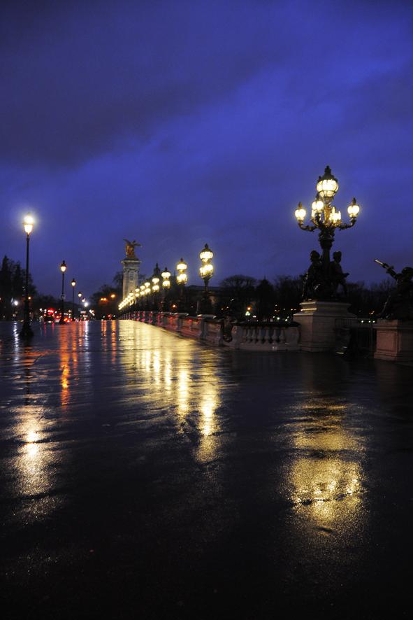Nachtstimmung in Paris
