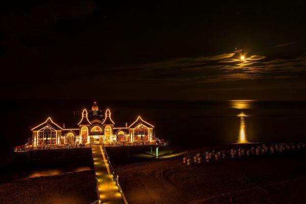 Nachtwanderung der Strandkörbe