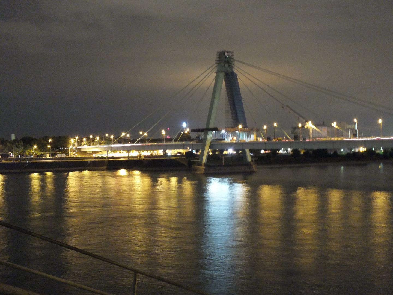 Nachtwanderung in Köln