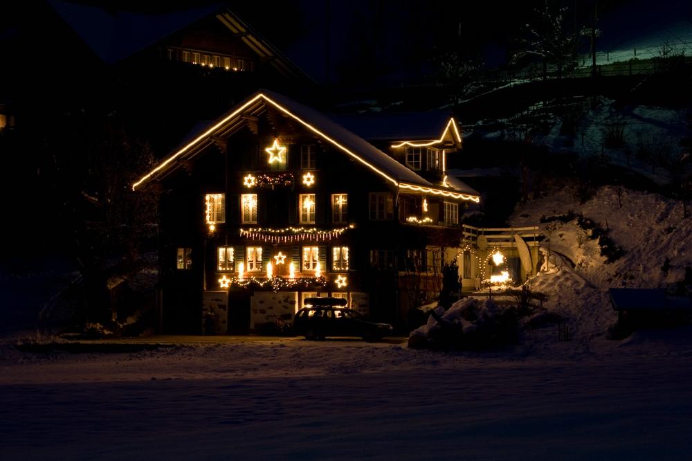 Nachweihnachtszeit in Mülenen (Schweiz)