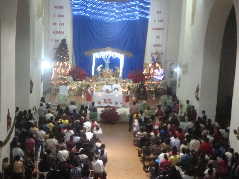 Nacimiento del Niños Jesús en Copainalá Chiapas Mex.