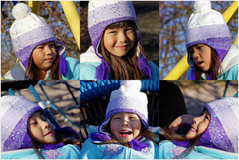 Nadia am Spielplatz