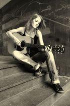 Nadine macht Musik