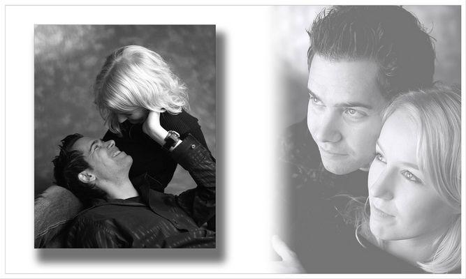 Nadine und Stefan - Collage