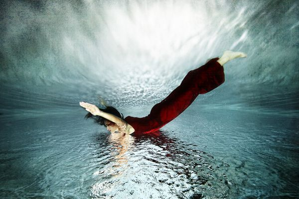 Nadine / Unterwasserfotos - Unterwasserfotoshooting - Underwaterphotography