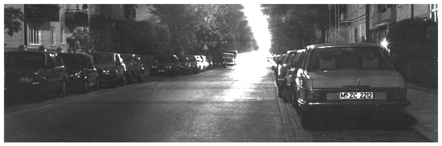 nächtliche Straße
